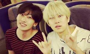 Heechul (kanan) dan Eunhyuk (Allkpop)
