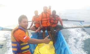 Korban laka laut Watu Kodok ditemukan, Minggu (06/11/2017). (IST/Dok Satlinmas Rescue Istimewa Will 2 Gunungkidul