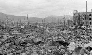Ilustrasi kerusakan kota Hiroshima akibat bom atom (Nbcnews.com)