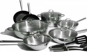 Ilustrasi peralatan memasak (Pinterest)