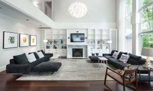 Ilustrasi ruang keluarga (Pinterest)