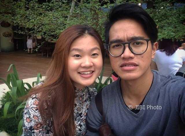 Kaesang Pangarep dan Felicia (Instagram @kaesangp)