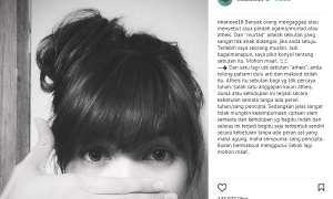 Klarifikasi Rina Nose soal isu pindah agama (Instagram @rinanose16)