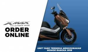 Order online Yamaha Xmax (Yamaha-motor.co.id)