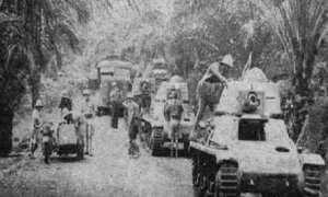 Pasukan pembebasan Prancis.