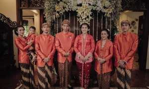 Penampilan keluarga Presiden Jokowi setelah siraman (Instagram @thebestfriend)