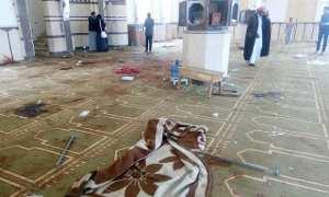 Masjid Al Rawdah setelah diserang kelompok bersenjata, Sabtu (25/11/2017). (JIBI/Reuters/Mohamed Soliman)