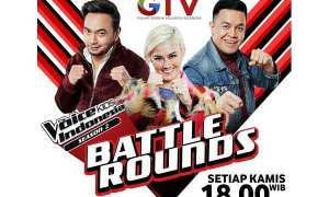 Poster babak Battle Rounds TVKI (Twitter @TheVoiceKidsGTV)