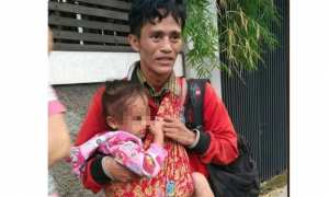 Pria bawa 2 anak diduga sebar cerita pilu untuk tipu masyarakat (Instagram)