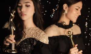 Raisa dan Isyana raih 2 piala di AMI Awards 2017 (Instagram @raisa6690)