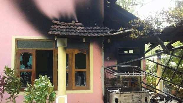 Rumah salah satu warga muslim Sri Lanka yang dirusak umat Buddha (Smh.com.su)