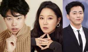 Ryu Jun Yeol (kiri), Gong Hyo Jin, dan Jo Jung Suk (XPN)