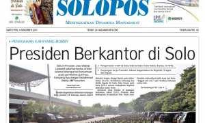 Solopos Sabtu 4 November 2017