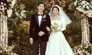 Song Joong Ki dan Song Hye Kyo (Instagram @songjoongkionly)
