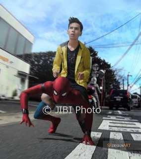 Syahril mengunggah Spider-Man (Instagram)