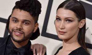 The Weeknd dan Bella Hadid (Elle.co.uk)