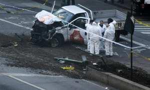 Truk yang dikendarai pelaku teror New York (Independent.co.uk)