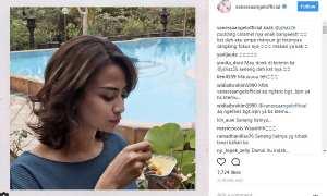 Vanessa Angel mendukung bisnis Jane Shalimar (Instagram @vanessaangelofficial)