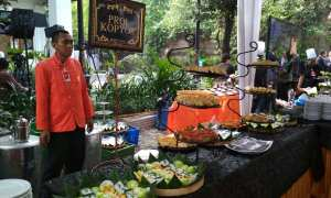 Hindangan khas Solo di pernikahan Kahiyang Ayu dan Bobby Nasution. (Indah Septiyaning W./JIBI/Solopos)