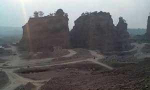Brown Canyon di Kelurahan Pucang Gading, Kecamatan Mranggen, Kabupaten Demak, Jateng. (Facebook.com-Saro Mitro)