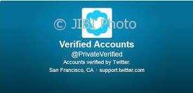 Verified account. (Istimewa/Twitter)