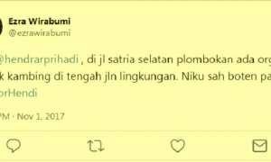 Laporan terkait keamanan dan ketertiban lingkungan di Jl. Satria Utara, Plombokan, Kecamatan Semarang Utara, Kota Semarang, Jateng. (Twitter-@ezrawirabumi)