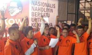 Deklarasi Joko Widodo dan Muhaimin Iskandar sebagai calon presiden dan wakil presiden pada Pemilu 2019 mendatang oleh Guyub Rukun Nusantara, Selasa (14/11/2017). (Beny Prasetya/JIBI/Harian Jogja)