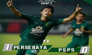 Ilustrasi Persebaya vs PSPS.