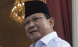 Ketua umum sekaligus Ketua Dewan Pembina Partai Gerakan Indonesia Raya (Gerindra) Prabowo Subianto. (JIBI/Solopos/Antara/Widodo S. Jusuf)