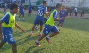 Ilustrasi latihan tim PSIS Semarang. (Instagram-@psisfcofficial)