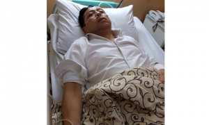 Setya Novanto dirawat di RS Medika Permata Hijau Jakarta, Kamis (16/11/2017) malam. (Istimewa)