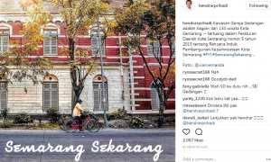 Kawasan sekitar Gereja Santo Yusuf atau Gereja Gendangan di Jl. Ronggowarsito, Rejomulyo, Kecamatan Semarang Timur, Kota Semarang, Jateng. (Instagram-@hendrarprihadi)