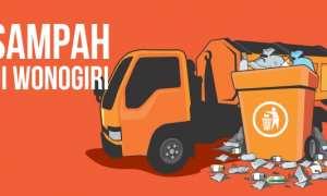 Grafis sampah di Wonogiri (Wisnu Paksa/JIBI/Solopos)