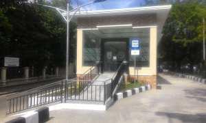 Bangunan baru sub terminal Kerten, Solo. (Irawan Sapto Adhi/JIBI/Solopos)
