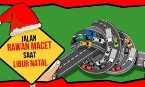 Lima ruas jalan di Kota Solo yang rawan macet saat libur Natal. (Whisnu Paksa/JIBI/Solopos)