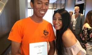 Bahas Skripsi tentang Anggun, pria ini dapat tanda tangan dari narasumber (Instagram)