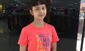 Antonia Elena Listya Araminta saat ditemui di Solo Grand Mall, Jumat (1/12/2017). (Chelin Indra Sushmita/JIBI/Solopos.com)