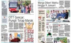 Harian Umum Solopos edisi Sabtu 30 Desember 2017