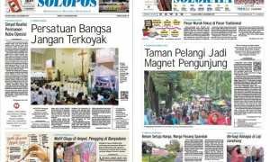 Harian Umum Solopos edisi Selasa 26 Desember 2017
