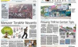 Harian Umum Solopos edisi Senin 11 Desember 2017