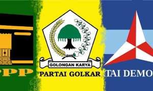 Ilustrasi PPP, Partai Golkar, dan Partai Demokrat. (JIBI/Semarangpos.com/Bis)
