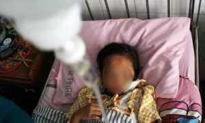 Ilustrasi bocah pengidap difteri. (JIBI/Antara)