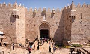 Ilustrasi gerbang Yerusalem (Youtube)