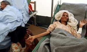 Ilustrasi pengungsi Rohingya yang terjangkit wabah difteri (Dhakatribune.com)