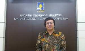 Alvin Sahroni, dosen FTI UII di Kampus FTI, Kamis (7/12/2017). (Harian Jogja/Sunartono)