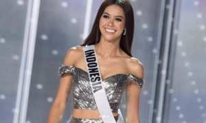 Penampilan Bunga Jelitha Ibrani di Grand Final Miss Universe 2017 (Instagram @bungajelitha21)