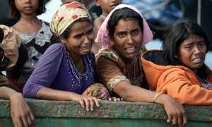 Pengungsi Rohingya di Bangladesh (Cnn.com)