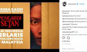 Prestasi film Pengabdi Setan di Malaysia (Instagram @jokoanwar)