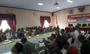 Polresta Surakarta gelar koordinasi Kesiapan Pengamanan Natal 2017 dan Tahun Baru 2018 di Aula Mapolresta, Senin (18/12/2017). (M Ismail/JIBI/Solopos)