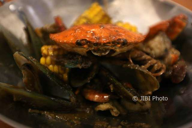 Menu Bobby in Vacation Crab and Friends Resto Solo (Nicolous Irawan/JIBI/Solopos)